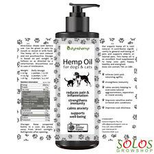 HEMP OIL FOR DOGS AUSTRALIAN CERTIFIED ORGANIC REGULAR 250ml,500ml,5l