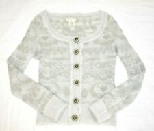 Sleeping on Snow Cardigan Sweater Fits XS Women's Anthropologie Mohair Blend