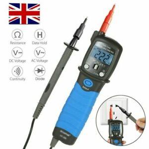 Digital Multimeter DC/AC Voltage Meter Resistance Diode Continuity Pen Tester UK