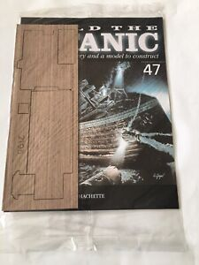 1/250 Hachette Build The Titanic Model Ship Issue 47 Inc Part Pictured.