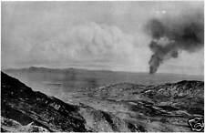 Tsingtao China Japanese Army Shelling World War 1 6x4 Inch Reprint Photo 1