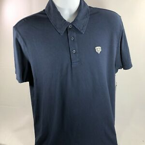 Chicago Bears 47 Brand Men's NFL Polo Blue T Shirt NWT Authentic Size M Football
