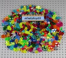 Lego - Assorted Lot Crystals Rock Jewels Gems Treasure Facet Diamond Minifigure