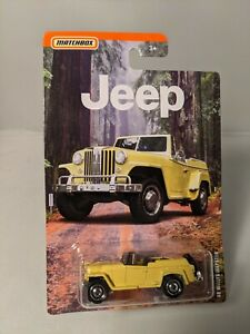 1948 Willy's Jeepster - 2020 Matchbox Jeep series - yellow