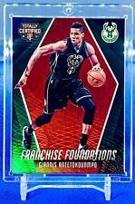 Giannis Antetokounmpo 2016 Totally Certified Franchise Foundations Red Holo /199