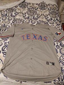 Nike Texas Rangers Joey Gallo Grey Jersey Men's XXL