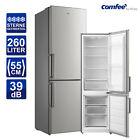 Kühlschrank Kühl-Gefrierkombination Comfee RCB357DS2GH silber 55 cm breit
