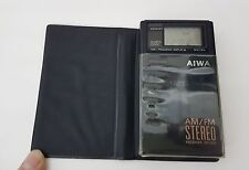 AIWA AM/FM stereo receiver cr-d10 Walkman RADIO TASCABILE PORTATILE rarità