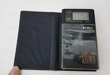 AIWA AM/FM Stereo Receiver CR-D10 Walkman Taschenradio Seltenheit tragbar