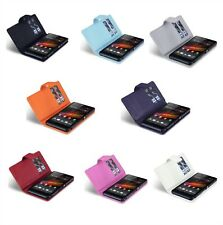 PU Leather Wallet Case Cover For Sony Xperia Z