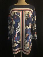 Women's Career Wear JM Collection Knit Floral Tunic XL