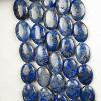 Ágata Onyx Púrpura Azul Oval suelto bolas 15.5 pulgadas 25x18x6mm CG1523