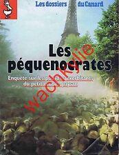Les dossiers du canard n°57 du 10/1995 Les péquenocrates Agriculure FNSEA Paysan