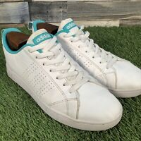 UK8 Adidas Advantage Clean VS Trainers - Casual Stan Style Shoes - EU42