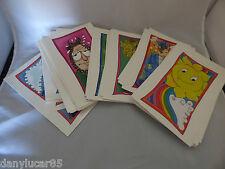 90 Simpatiche Vignette Cartoline Smorfia Napoletana 10 X 15 Cm