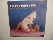 Nude  Electronic Toys : A Retrospective Of 70's Synthesizer Music LP Sealed NEW
