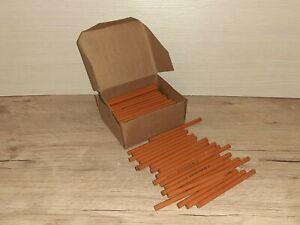 """Soviet Union Wood black lead Pencils """"Space"""" USSR 100 pcs M-2M 113 mm"""