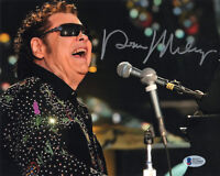 RONNIE MILSAP SIGNED AUTOGRAPHED 8x10 PHOTO COUNTRY MUSIC LEGEND BECKETT BAS