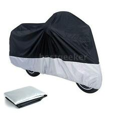 Large Motorcycle Cover Outdoor Motorbike Scooter Moped Waterproof Rain Cover L