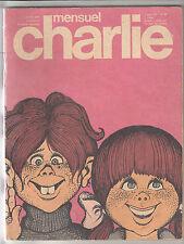 CHARLIE mensuel n° 84 janvier 1976 cabu wolinski
