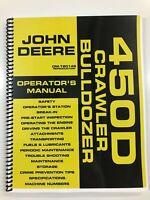 OPERATORS MANUAL FOR JOHN DEERE 450D CRAWLER DOZER OWNERS MANUAL MAINTENANCE