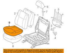TOYOTA OEM 05-08 Tacoma Front Seat-Cushion Bottom Cover 71072AD011B4