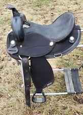 "15"" Abetta Saddle Black 6.5"" Gullet"