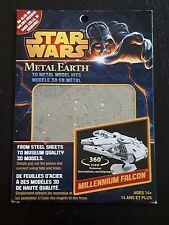 Star Wars Millenium Falcon - Metal Earth 3D metal model kits by Fascinations