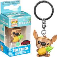 Funko pop key chain lilo y stitch tiki stitch figure figura llavero film tv