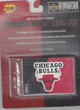 1997-98 Upper Deck Collector's Choice Chicago Bulls Team Set Michael Jordan