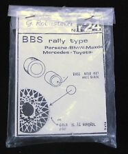 1:43 G Robustelli BBS Rally Type Wheels And Tires #r24 F.S.