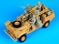 1/35 Resin Modern US Crew 4 Soldiers W/Accessories  Unassembled Unpainted BL663