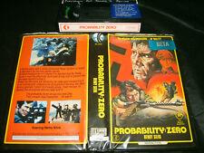 Beta *PROBABILITY:ZERO(1969)* RARE K-tel 1st Issue Dario Argento Giallo Thriller