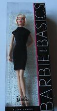 Barbie -  Basics - Black Label - # 09 -001 Doll By Mattel in 2009