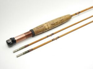 Custom-Built 7 1/2' Bamboo Fly Fishing Rod. 2/2.