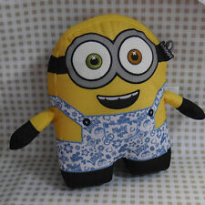 "NEW ~cute MINIONS CUSHION PILLOW TO~ 10"" PLUSH TOY DOLL"