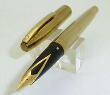 Gold Sheaffer Imperial Fountain Pen, Touchdown Filler, F Nib
