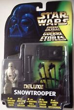 """Star Wars Deluxe SNOWTROOPER With Tri-Pod Cannon Action Figure 3.75"""" Tall"""