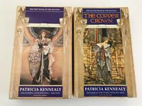 Vintage 90s Fantasy Books 1 and 2 of The Keltiad by Patricia Kennealy