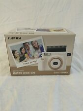 Fujifilm Instax Wide 300 Instant Camera - Toffee - New - Boxed