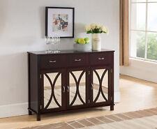 Kings Brand Furniture - Odilon Buffet Server Cabinet / Console Table, Espresso
