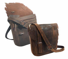 Damentaschen aus Leder mit verstellbaren Trageriemen und Schnalle