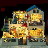 Handgefertigte Miniatur projekt Set Holz Puppenhaus My Kleine Villa