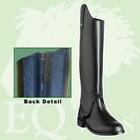 EQVVS/ENGLISH GAITER COMPANY ALTHORPE EASY FIT LEATHER CHILDS GAITERS / CHAPS