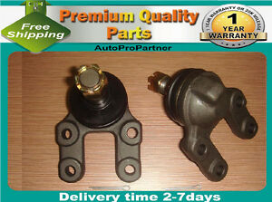 2 FRONT LOWER BALL JOINT FOR NISSAN PICKUP D21 4WD 86-97 MISTRAL 84-98