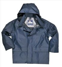 Cappotti e giacche impermeabile blu casual per bambini dai 2 ai 16 anni