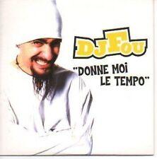 (679F) DJ Fou, Donne moi le Tempo - 2000 CD