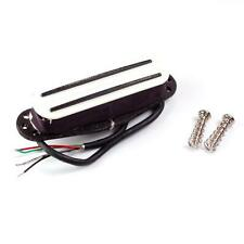 Kent Armstrong Power Blades Rails Mini Humbucker Pickup bianco-caldo