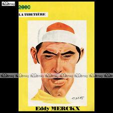 EDDY MERCKX - Portrait par TIBET (No Ric Hochet, Chick Bill) 1971 #TB-30