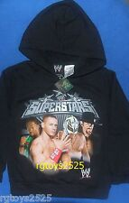 WWE Superstars John Cena Rey XS 4-5 Sweatshirt Pullover Hoodie New Child Kofi